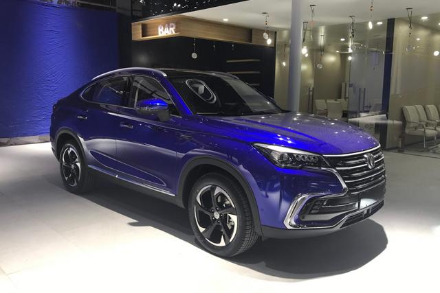 广州车展|长安全新轿跑SUV CS85正式亮相