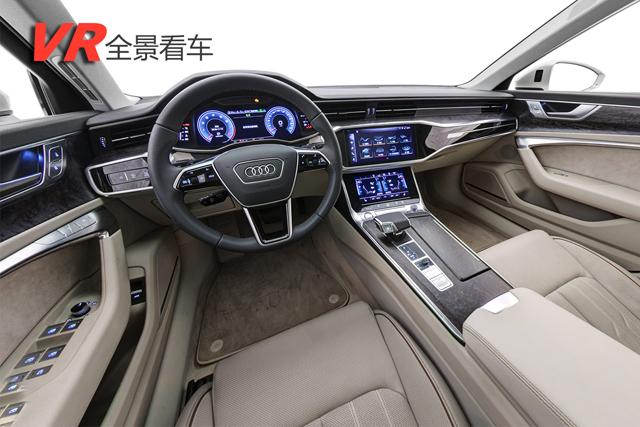 全景看车|全新一代奥迪A6L 内饰科技感爆棚