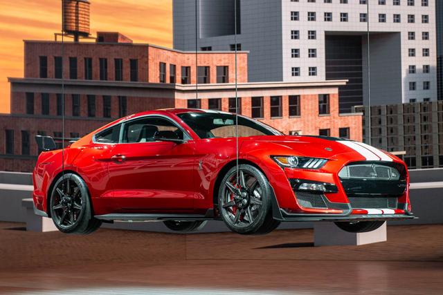 实拍|全系最强款 福特Mustang Shelby GT500