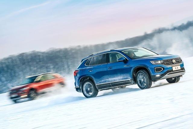 冰雪试驾|一汽-大众两台SUV竟让我们High了