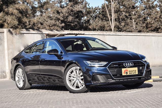 实拍|全新A7 可能是奥迪旗下最帅的车型