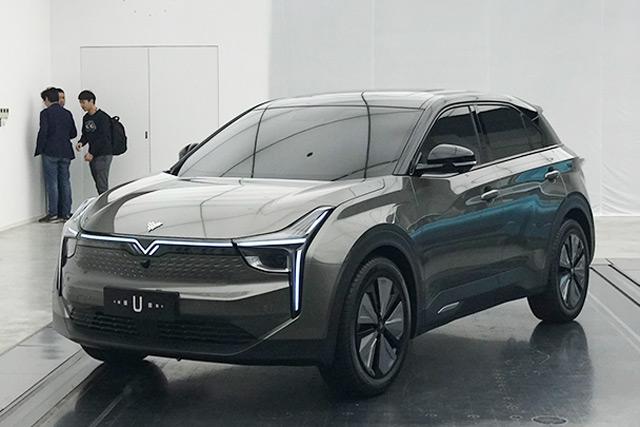 新车|定位紧凑型SUV/配透明A柱 合众U亮相
