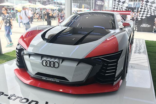 新车|奥迪e-tron Vision GT概念车国内首秀