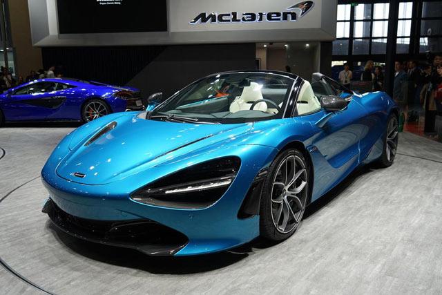 新车|迈凯伦600LT/720S敞篷版上市售319.5万起