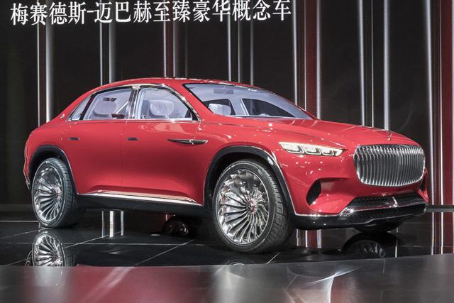 新车|迈巴赫Ultimate Luxury概念SUV或将投产