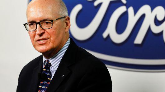 人事|重组未落实 福特CFO尚克斯将在年底退休
