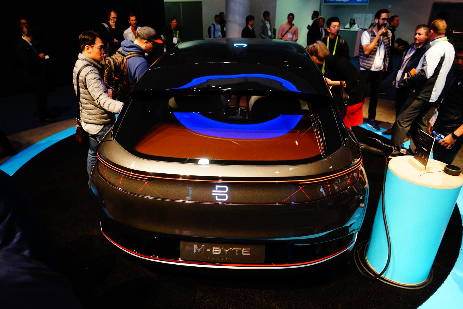 2019CES:拜腾BYTON M-Byte量产车发布