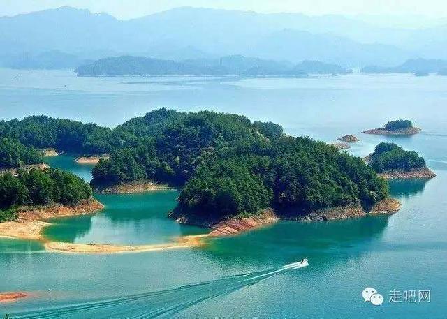 短线亲水类自驾线路:千岛湖/苏州西山/山东长岛