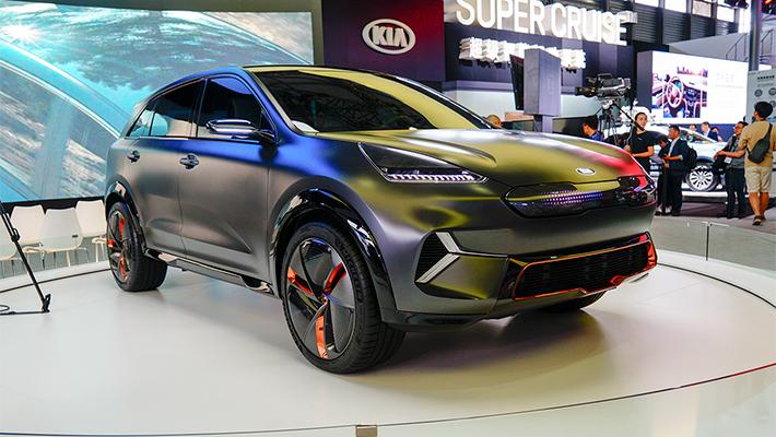 个性化十足 极具科技感的起亚极睿EV概念车