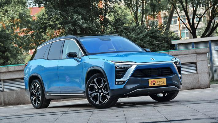 实拍|蔚来ES8 一款更智能的电动7座SUV