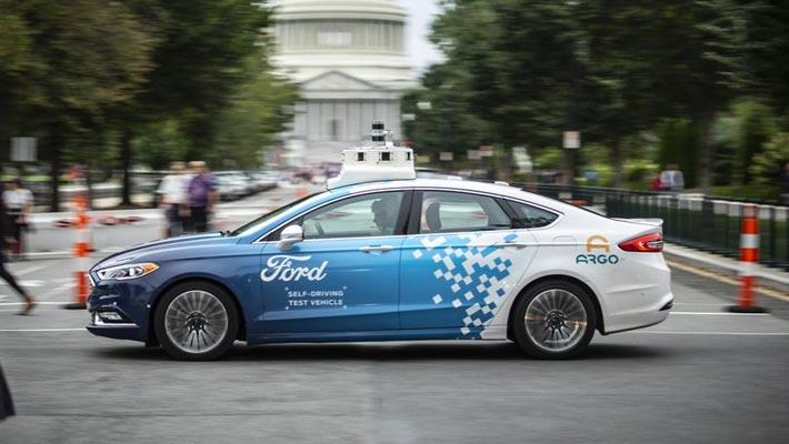 福特2019年初在华盛顿特区测试自动驾驶汽车
