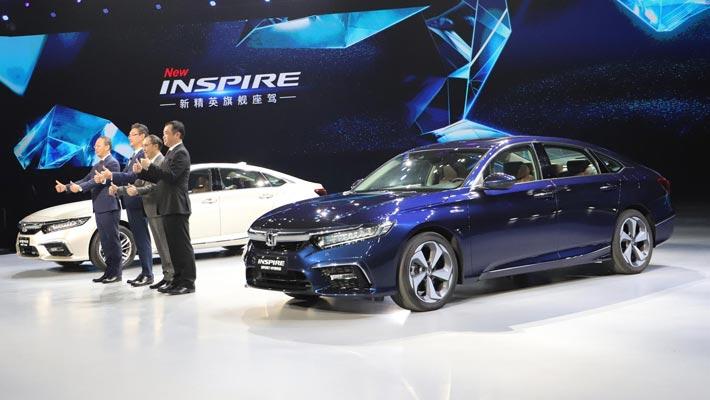 东风本田INSPIRE正式上市 售价18.28万起
