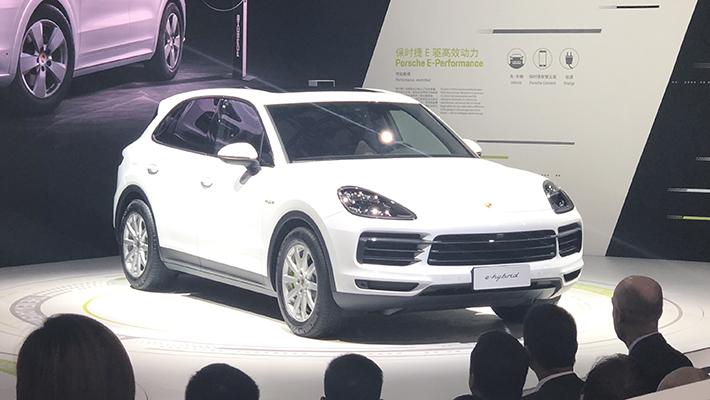 2018广州车展:保时捷Cayenne E-Hybrid上市