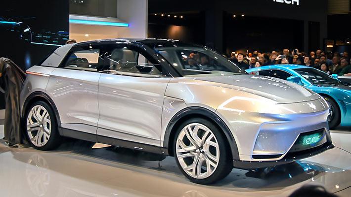 自主高端新能源品牌ARCFOX ECF概念SUV解析
