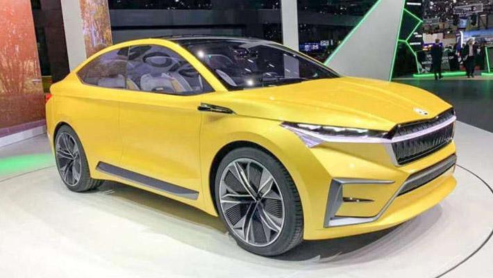 斯柯达VISION iV纯电动概念车上海车展将亮相