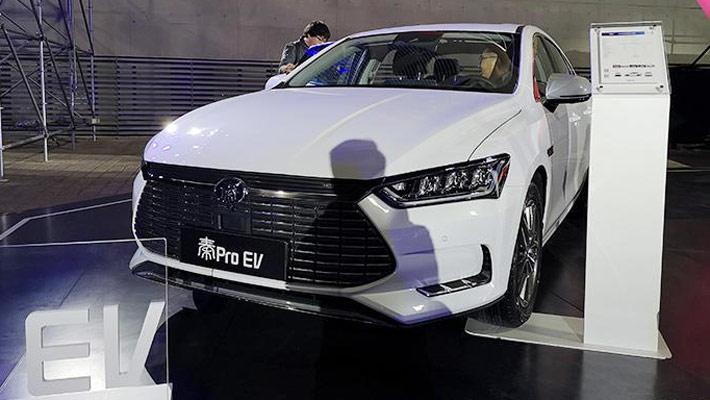补贴后14.99万起 比亚迪秦Pro EV超能版配置曝光