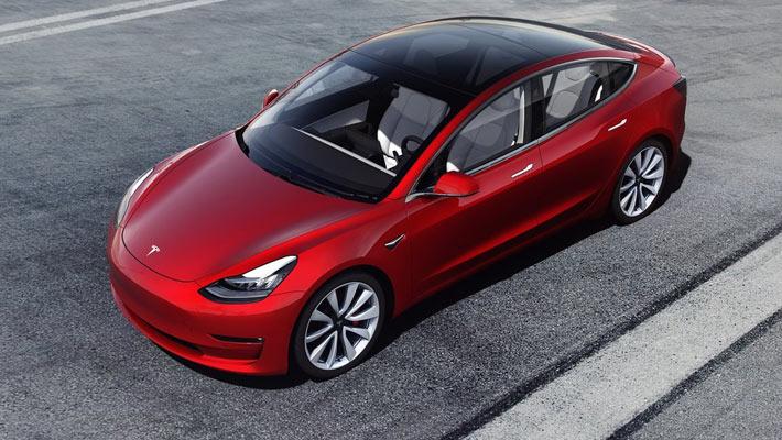 第一季度全球新能源车销量出炉Model 3夺冠