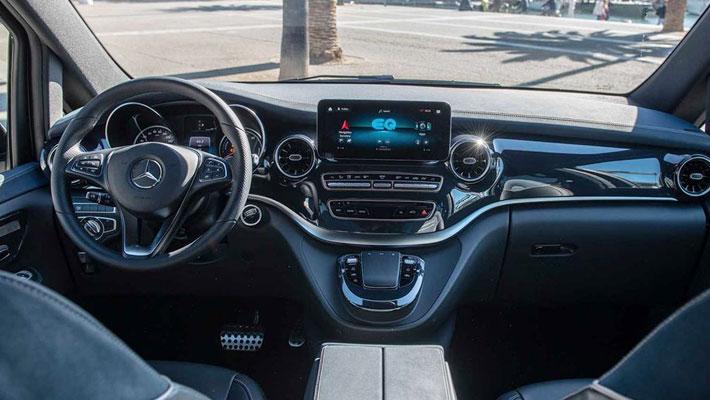 奔驰全新纯电动MPV量产版9月发布 或引入国内