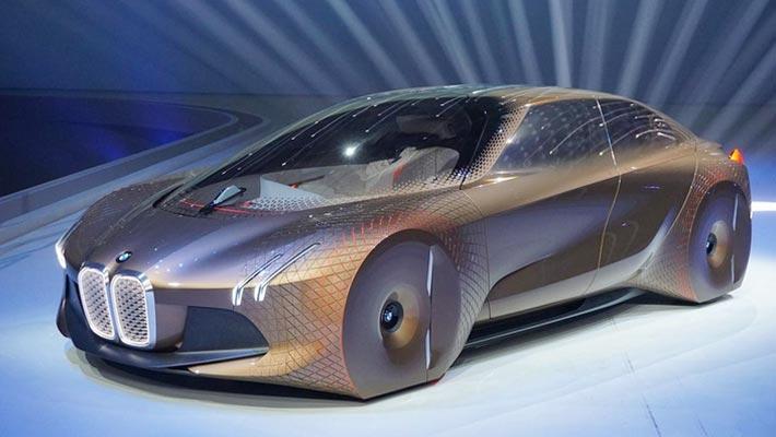 宝马Vision M NEXT概念车预告图曝光