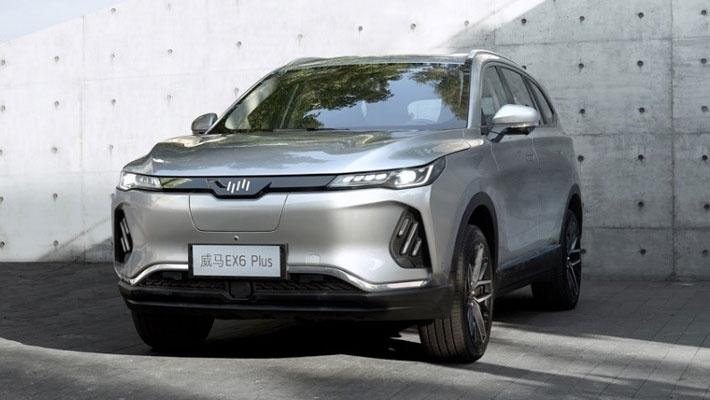 威马EX6 Plus官图曝光 2019广州车展上市