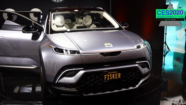 2020CES:Fisker首款电动SUV Fisker Ocean发布