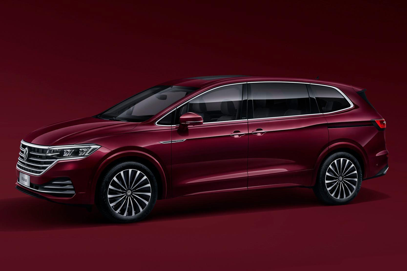 上汽大众首款豪华MPV Viloran定名威然 5月28日上市