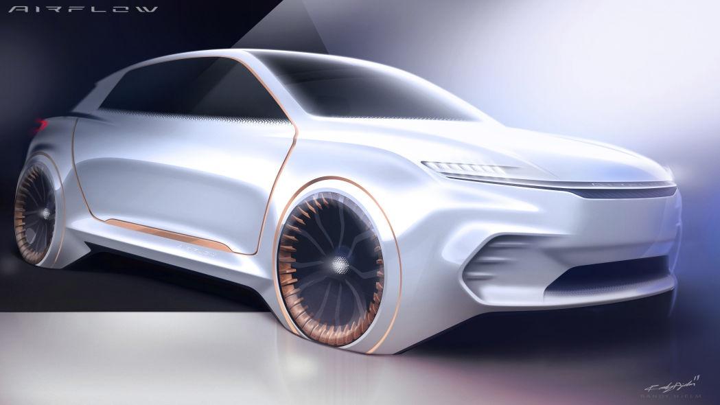 克莱斯勒将发布Airflow Vision概念车