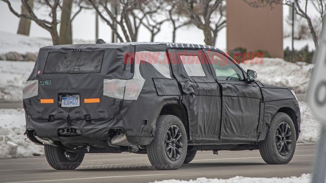 曝换代Jeep大切诺基谍照 或6月底特律车展首发