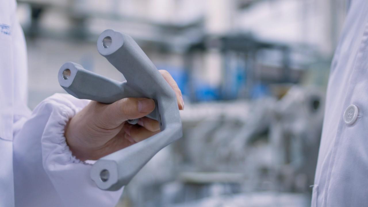 胡铬合金(HuCrAlloy)发动机座支架