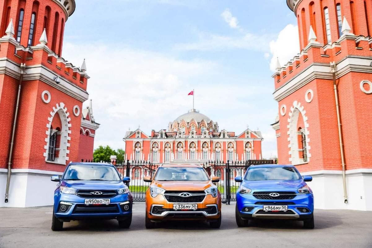 奇瑞汽车7月在俄罗斯销量增长一倍