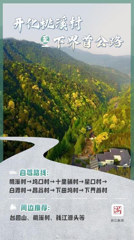 浙江  十大最美自驾公路带你刷遍绿水青山