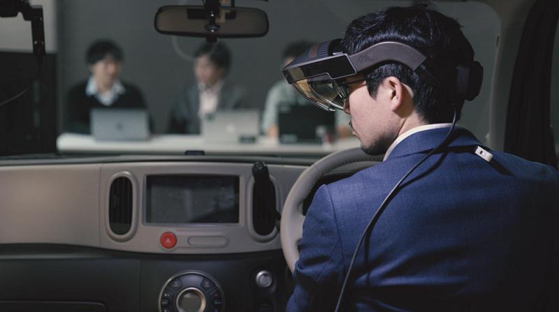 2019CES:日产汽车无形可视化(I2V)技术