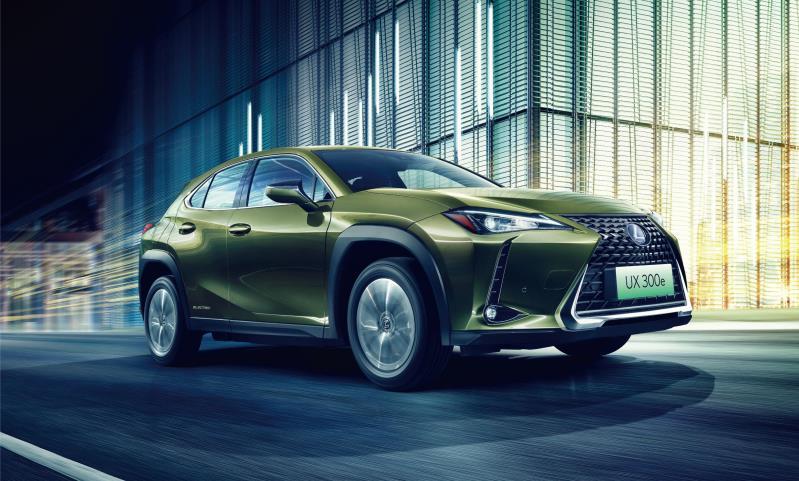 品牌首款纯电动车型 雷克萨斯UX 300e正式上市 售36.2万起