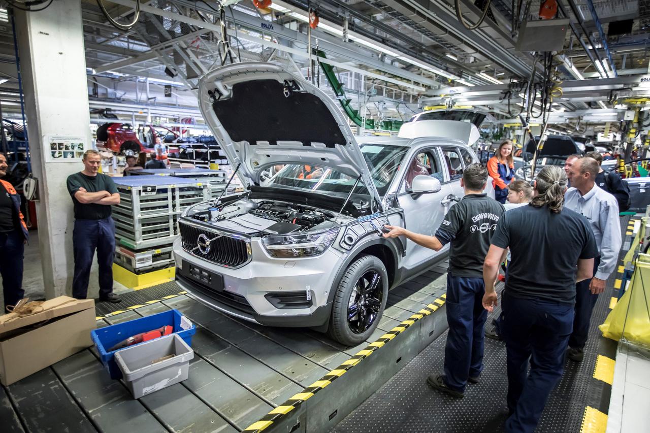 领克将于2019年在沃尔沃根特工厂投产
