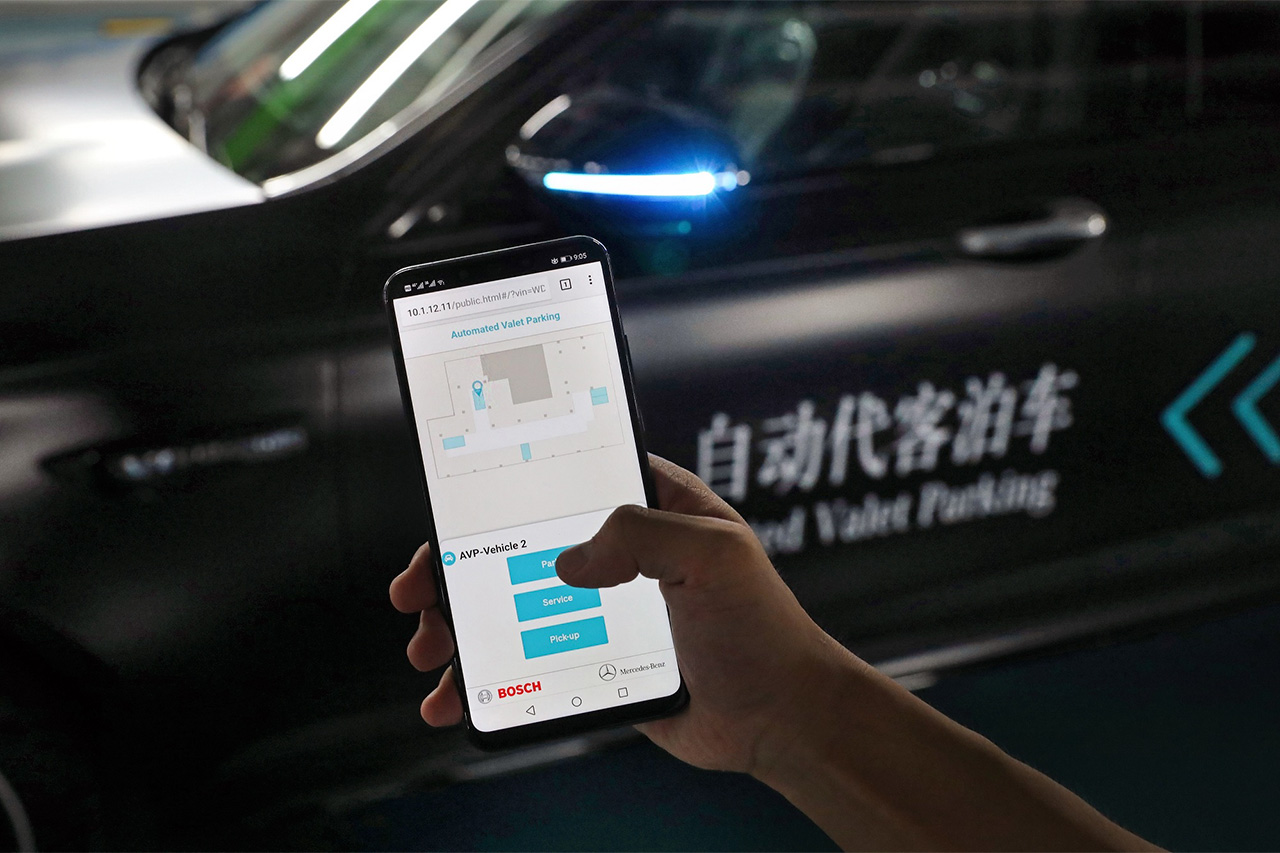 贴近生活的自动驾驶 奔驰自动代客泊车技术