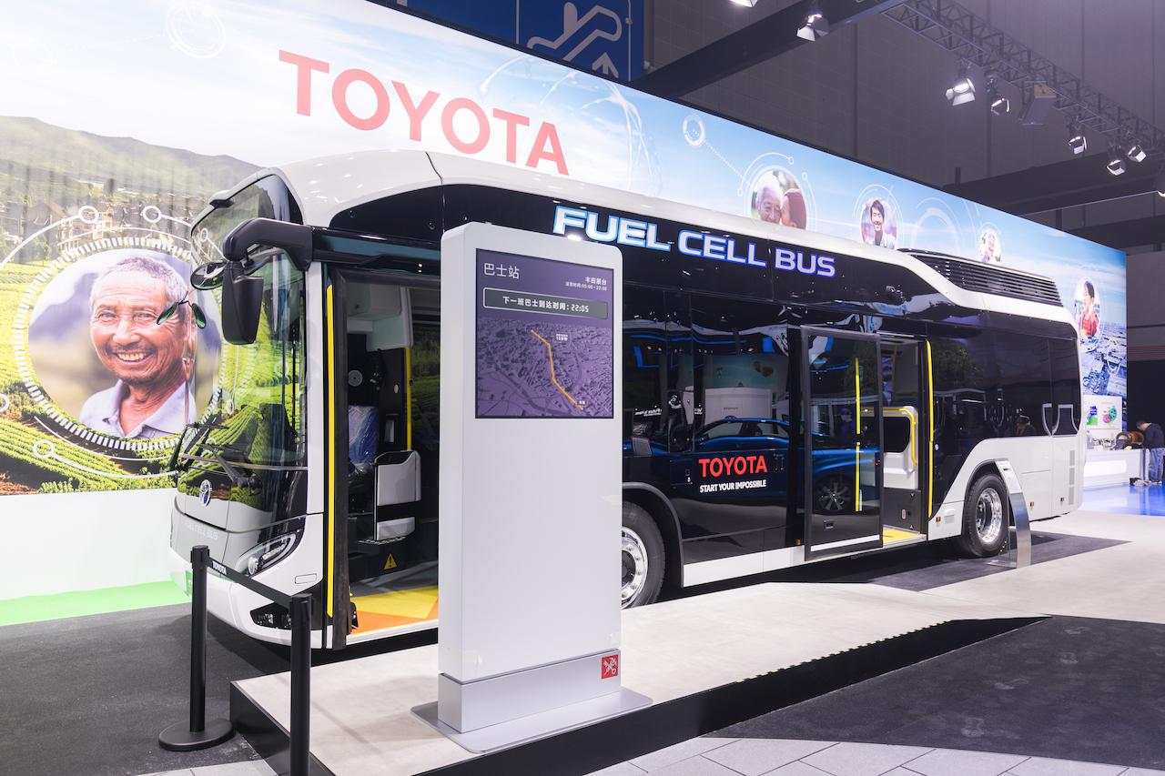 燃料电池巴士SORA