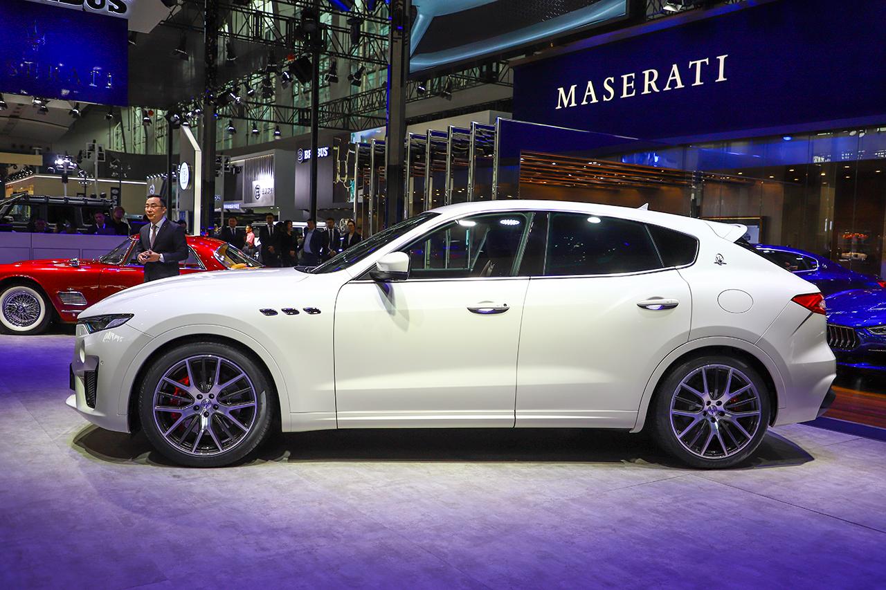 2018广州车展:玛莎拉蒂Levante GTS中国首发
