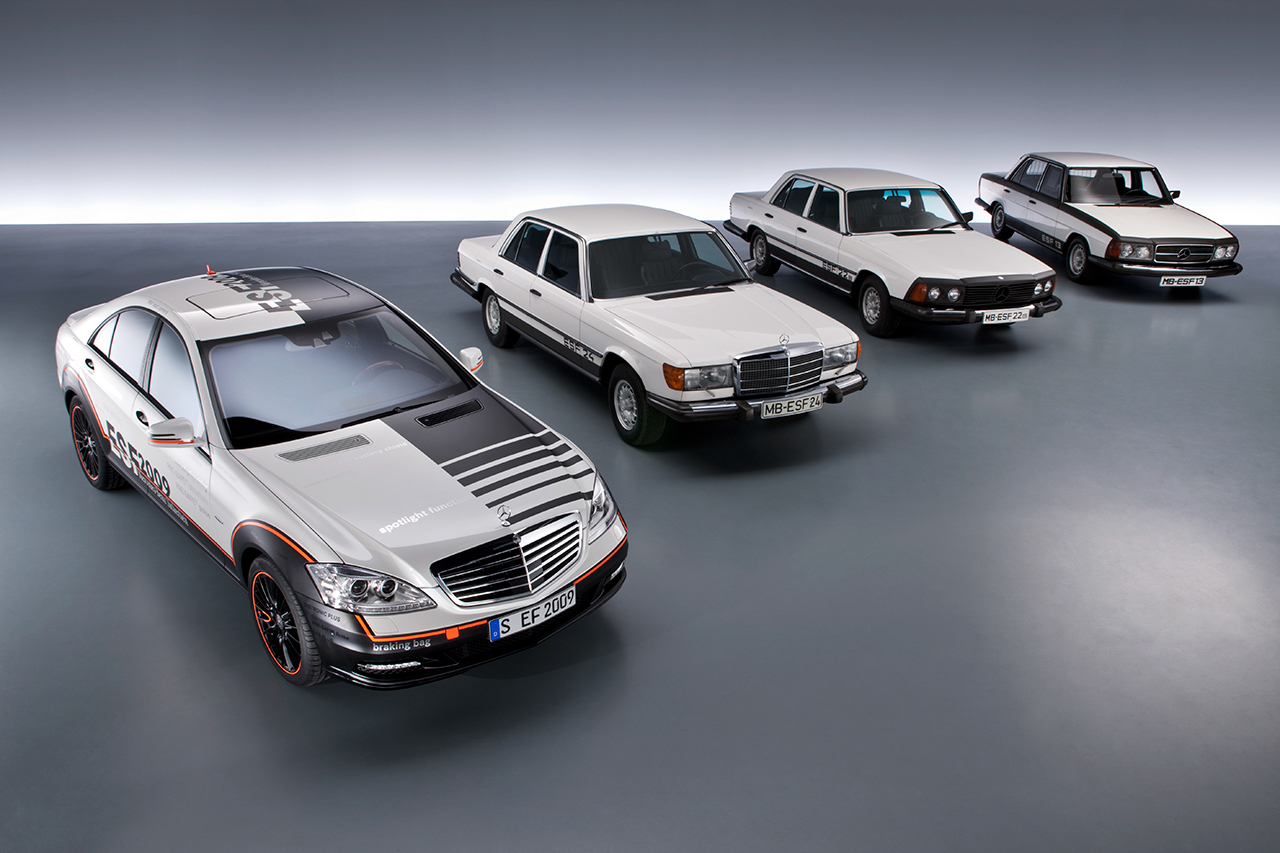 奔驰历代ESF概念车型
