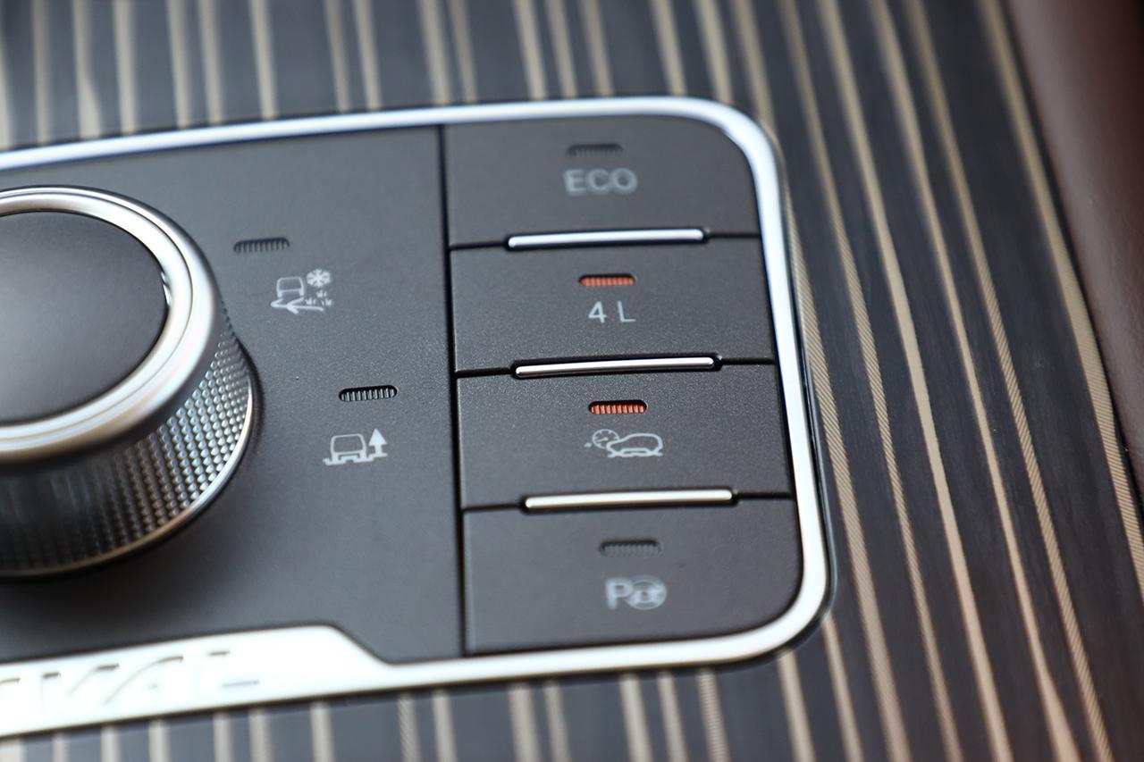 哈弗H9 2020款 低速四驱按钮