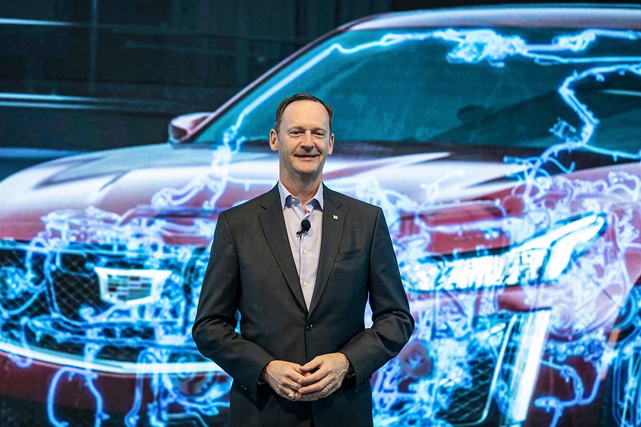 通用汽车全球电气化产品、系统及软硬件副总裁丹·尼科森