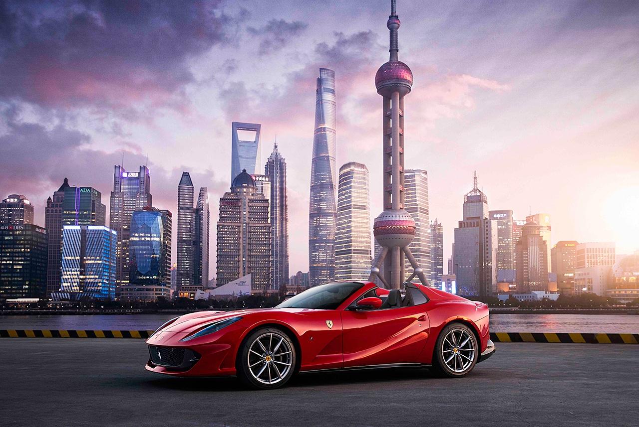 全新法拉利812 GTS登陆中国 售价530万元起