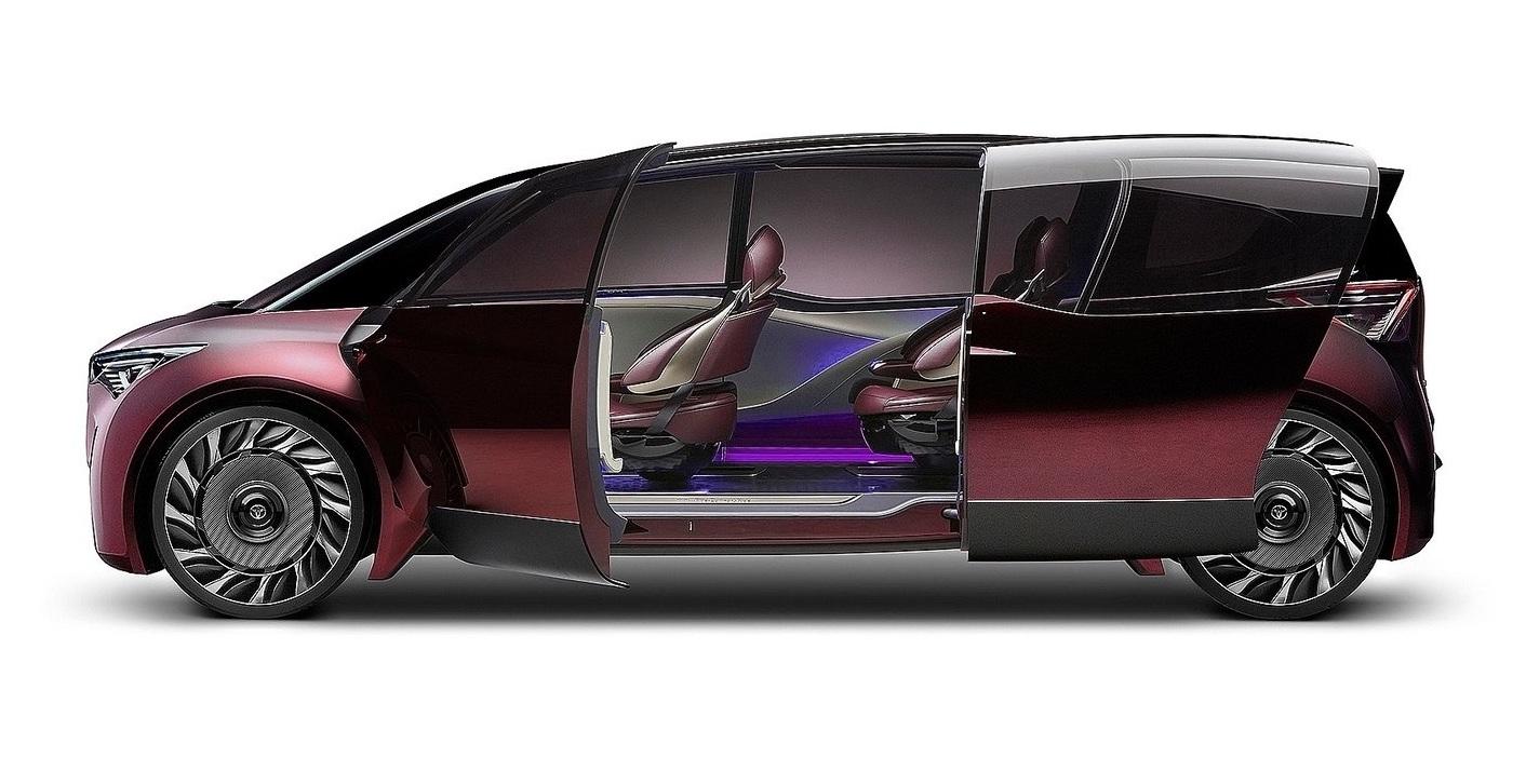 丰田氢燃料电池概念车FINE-Comfort Ride