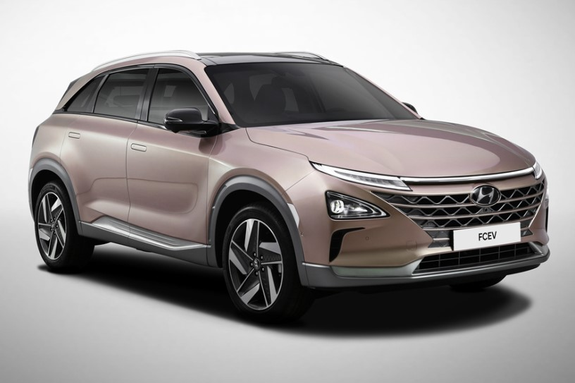 现代氢燃料电池车 Nexo