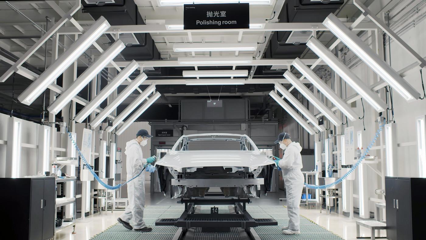 最贵国产跑车在这里诞生 Polestar工厂
