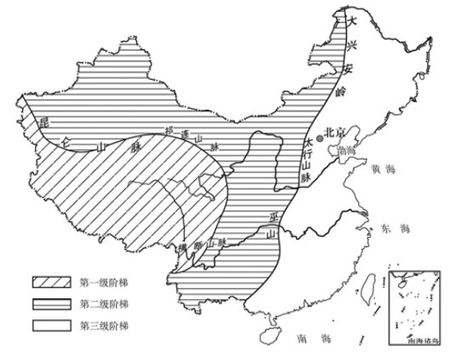 知识点:中国三大阶梯分界线