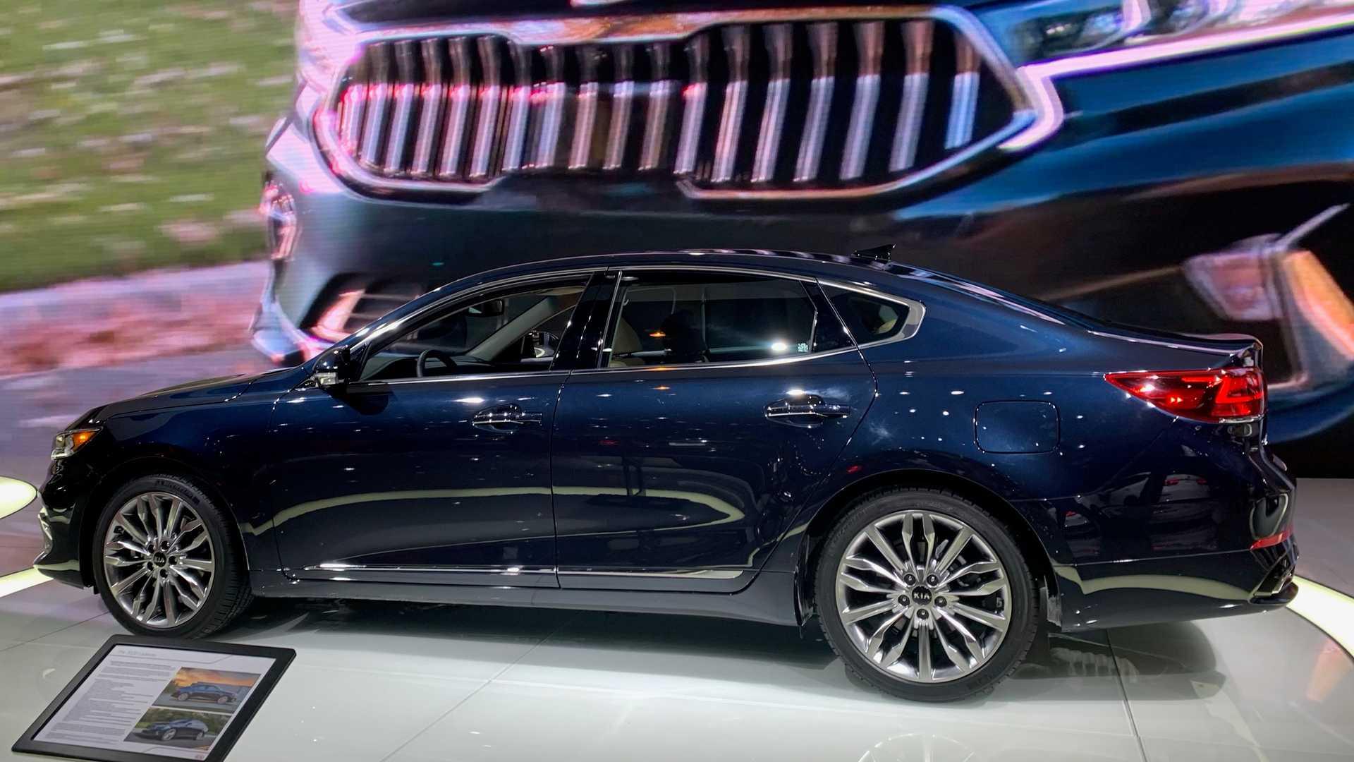 2020芝加哥车展:起亚新款Cadenza亮相