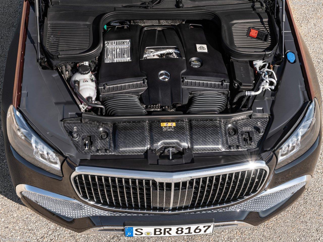 迈巴赫GLS 搭载 4.0T V8 48V轻混发动机