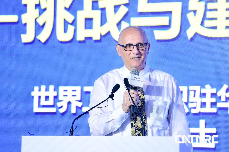 世界卫生组织驻华代表DR Gauden Galea高力博士