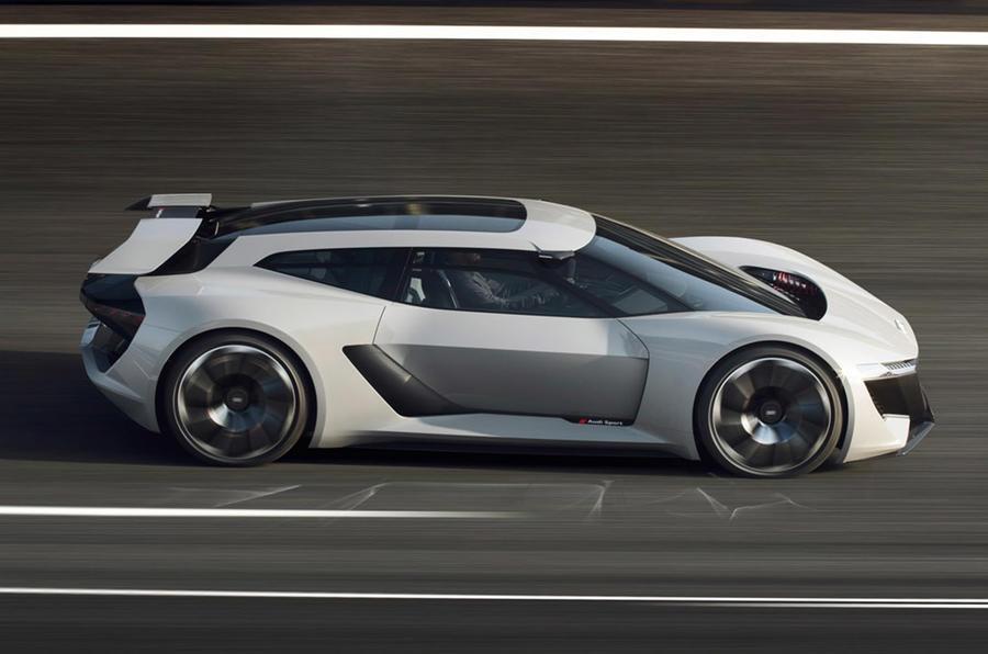 展示奥迪A2后继车型的奥迪AI:ME概念车