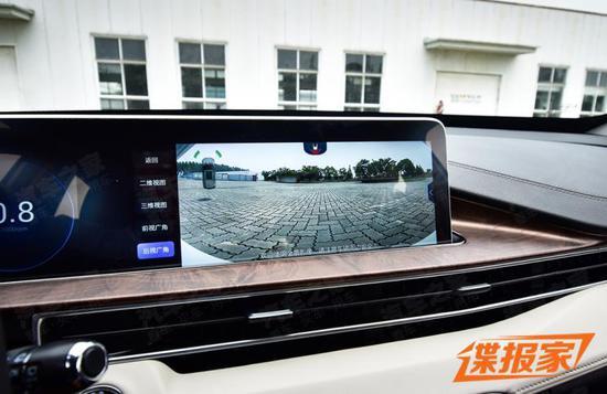 星途-LX双屏细节曝光 采用双12.3寸大屏
